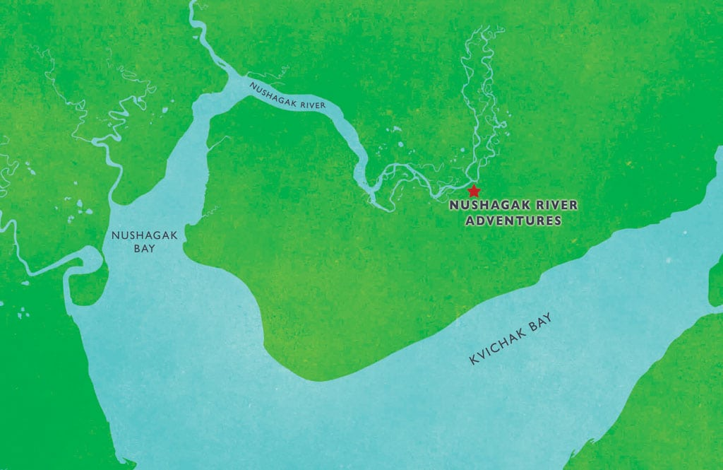 Nushagak River Map