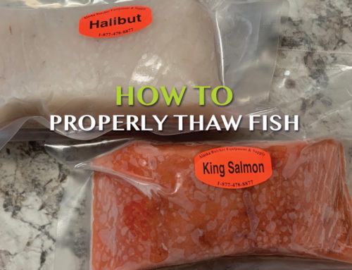 How to thaw fish